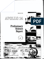 Apollo 14 Preliminary Science Report