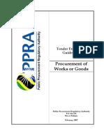 Tender Evaluation Guidelines - Procurement of GoodsWorks-2006.pdf