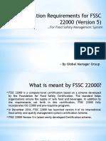 An Overview on FSSC 22000 (Version-5) Documentation Kit