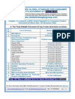 BRC Global Standard for Consumer Product Documentation Kit
