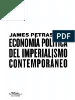 Petras James - Economia Politica Del Imperialismo Contemporaneo