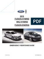 2013 Fusion Hybrid Fusion Energi MKZ Hybrid ERG