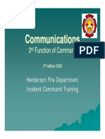 FOC #3 Communications 2nd Edition