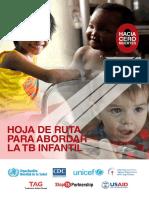 HOJA DE RUTA PARA ABORDAR TB INFANTIL OMS 2016