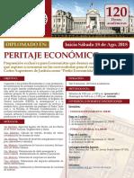 DIPLOMADO DE PERITAJE ECONOMICO