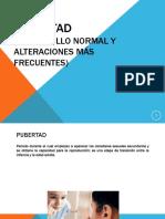 pubertad y alteraciones.ppt