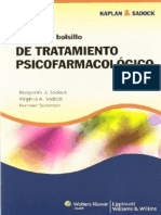 Kaplan Sadock Manual de bolsillo de tratamiento psicofarmacológico 5a ed - Benjamin J Sadock.pdf