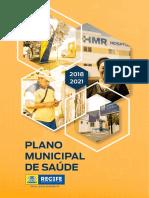 Plano Municipal de Saúde 2018 a 2021 recife
