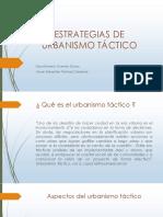ESTRATEGIAS DE URBANISMO TÁCTICO