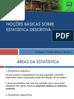Noções básicas sobre estatística descritiva