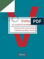 Voltaire - El Filosofo Ignorante