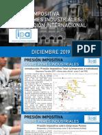 IPA - Presion Impositiva Sobre Pymes Industriales - Dic 2019