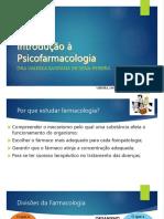 1-Introdução à Psicofarmacologia
