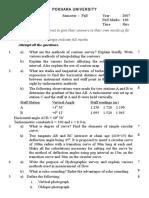 Surveying II (4)