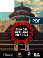 Guía del Peruano en China