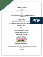 DHFL SIP REPORT
