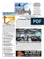 COSMO NEWS December 29, 2019 Edition