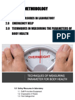 CH3 Technique of Measuring Parameter for Body Health