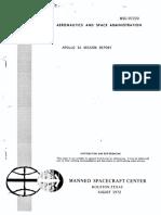 Apollo 16 Mission Report