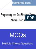 Programming And Data Structure Solved MCQs Part 2 Book