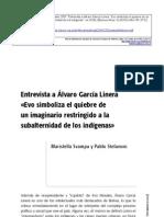 Alvaro Garcia Linera - Entrevista Svampa Stefanoni