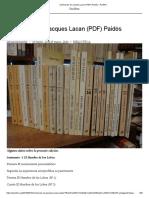 Seminarios de Jacques Lacan (PDF) Paidós – Parlêtre