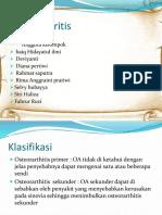 Osteoarthritis slide