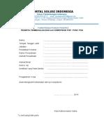 Form Pendaftaran KY