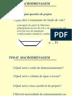 MACRODRENAGEM
