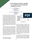 Development of Wire Diagnostic System
