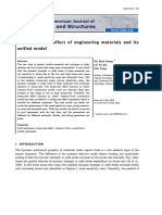 The strain-rate effect of engineering materials and its unified model