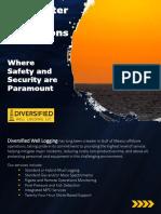 Deepwater-Fm Evaluation_Geomechanic_PP-ECD monitoring_Diversified well logging