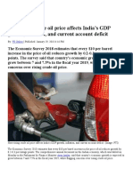 How rising crude oil price affects India.doc