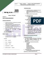 Class11 Unit 1 Unit & Measurement
