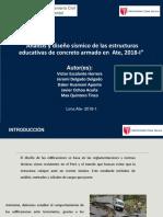 Análisis-y-diseño-sísmico-de-las-estructuras-educativas-de-concreto-armado-en-Ate-2018-I.pptx