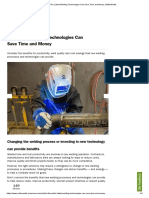 The Latest Welding Technologies