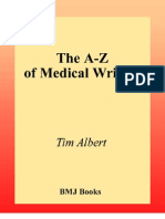 The a-Z Medical Writing