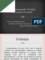 Gaz Cromatografia