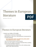 Themes in European literature