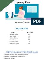 Final Pregnancy Case