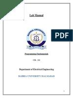 Lab Manual PF