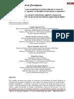 O design thinking como metodologia de projeto aplicada ao ensino de engenharia