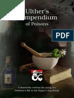 Ulthers Compendium of Poisons   ( traduzido ) compendio de poções 5e