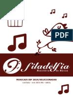 CORAL IBF - CANTATA AOS TEUS PES 2019 - SELECIONADAS