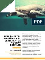 Reseña El-pingüino y el Leviatán Yochay Benkler