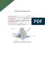 stabilite des barrages  poids.doc1