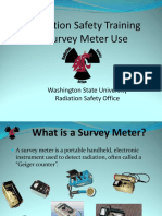 Radiation safety training survey meters.pps