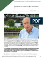 Juan Restrepo_ _El periodismo no puede ser oficio de fanáticos y partisanos__- The CULT