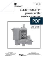 Meyer E-47 Service Manual