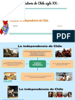 Analizar la Indepedencia de Chile .